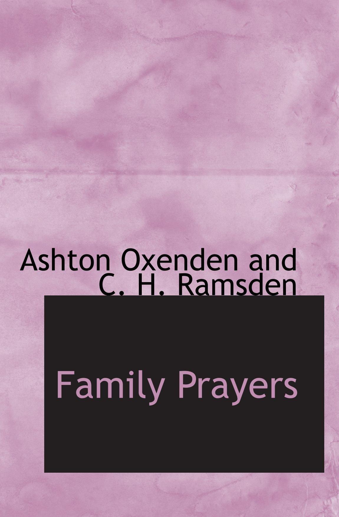 Family Prayers PDF