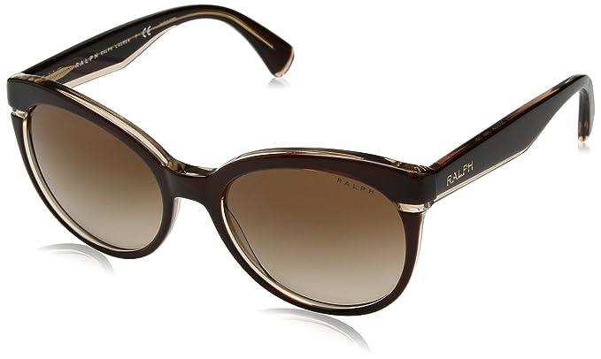 Ralph 0Ra5238 Gafas de sol, Ojos de gato, 55, Brown Beige ...