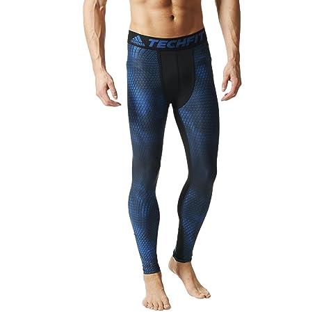 10510dd3753 Amazon.com: adidas Performance Mens Running Techfit Chill Tights - L ...