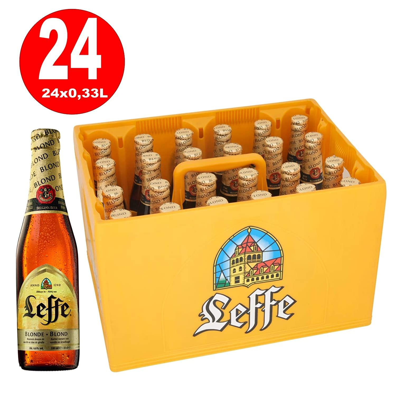 Leffe Blond Belgian Bier 24 X 033 Liter Amazonde Bier