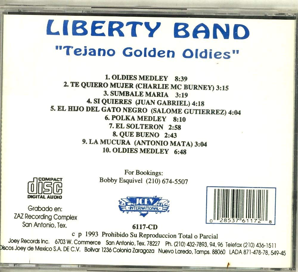 Liberty Band - Tejano Golden Oldies - Amazon.com Music