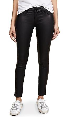 Amazon.com  DL1961 Women s Emma Power Legging Leather   Coated Jeans ... 02338346b8
