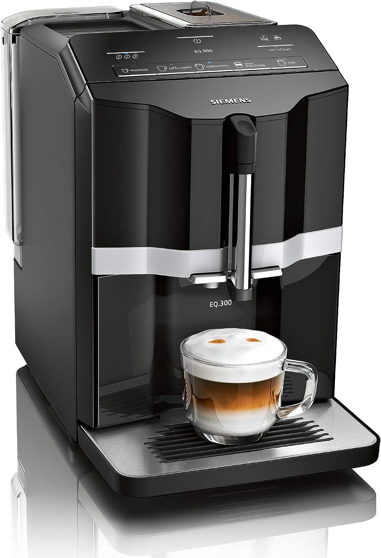 Siemens EQ.3 s100 Cafetera automática, 1300 W, 1.4 litros ...