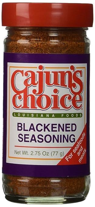 Cajun vs blackened seasoning for Blackened fish seasoning