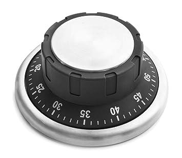 Lacor 60805 - Reloj Digital de cocina con avisador acústico, 10.5 x 7 cm: Amazon.es: Hogar