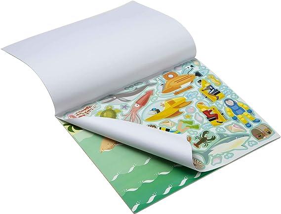 Amazon.com: Plancha de pegatinas de aventura reutilizables ...