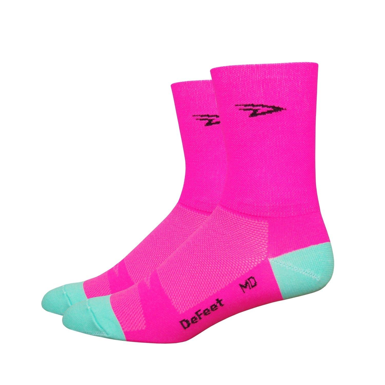 Defeet - Defeet Aireator Hi-Top double layer hi-viz pink