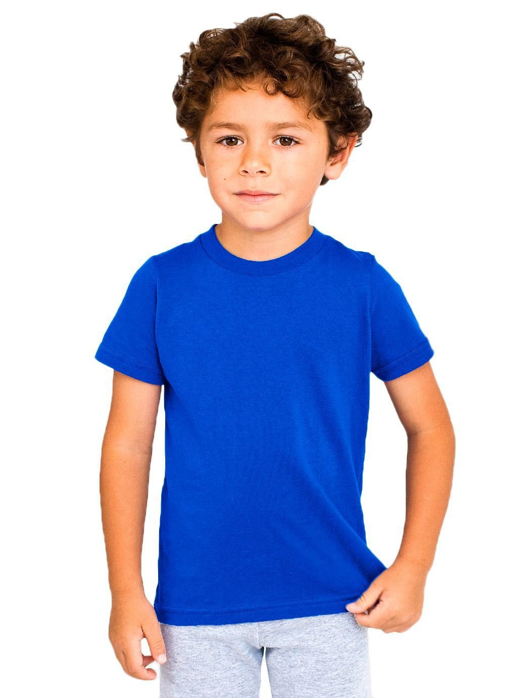 Fine Jersey Short-Sleeve T-Shirt