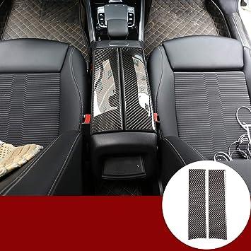 Abdeckung Für Mittelkonsole Armlehne Box Aus Kohlefaser Zubehör Für Benz B Glb Klasse W247 X247 2019 2020 Auto