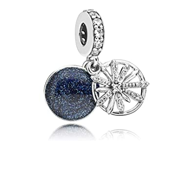 8d2c60f24 Image Unavailable. Image not available for. Color: Pandora Dazzling Wishes Pendant  Charm 797531CZ