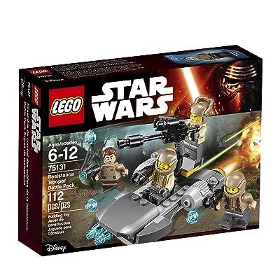 LEGO Star Wars Resistance Trooper Battle Pack 75131: Toys & Games