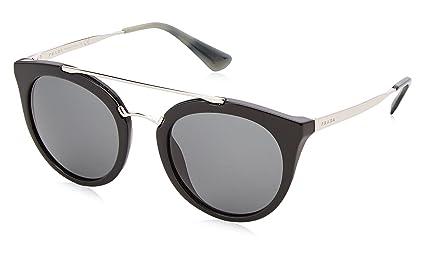 be27cadf902 Prada Cinema Double Bridge Sunglasses in Black PR 23SS 1AB1A1 52 52 ...