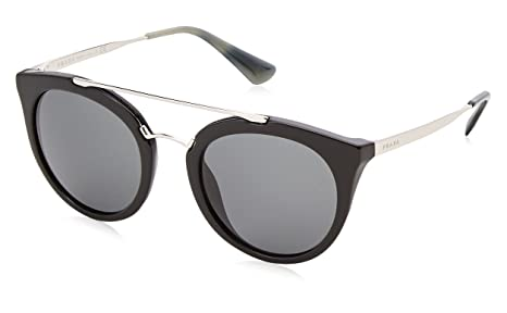 2ddd41f41066c Image Unavailable. Image not available for. Colour  Prada Cinema Double  Bridge Sunglasses in Black ...