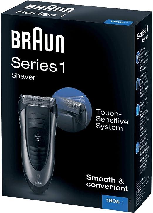 Braun Series 1 - Afeitadora eléctrica 190s-1, negro: Amazon.es: Salud y cuidado personal