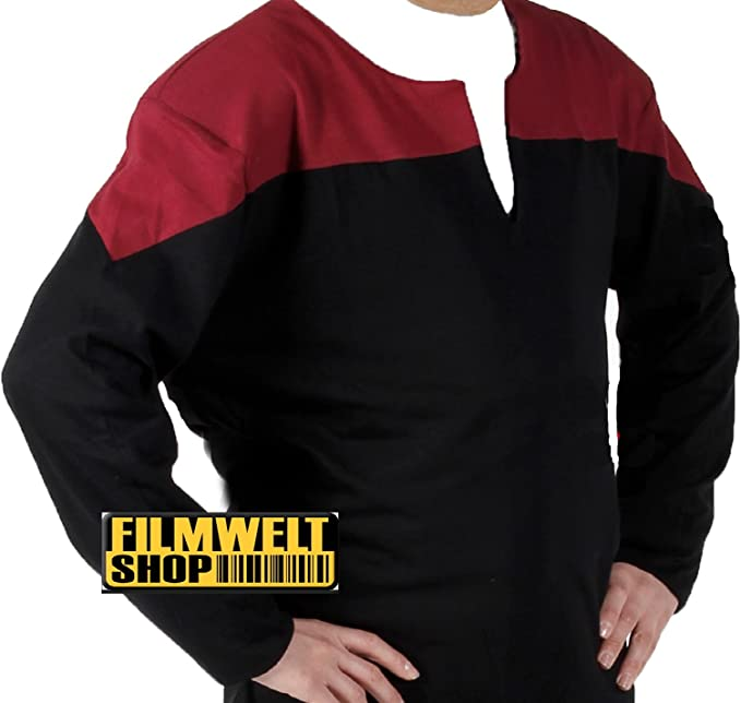 Star Trek - Voyager - DELUXE - Uniform Shirt - Red - XL (disfraz ...