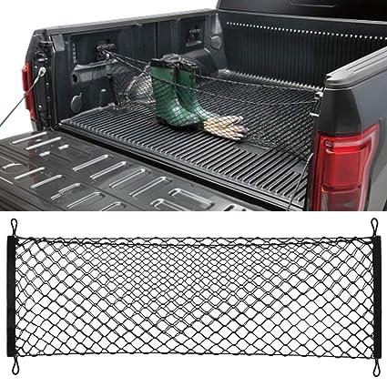 Truck Bed Cargo Net >> Truck Bed Cargo Net Car Hammock Style Trunk Storage Organizer Net Fit Ford F 150 F150 2014 2015 2016 2017 2018 2019