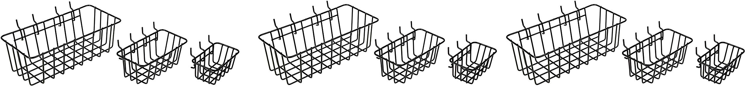 Dorman Hardware 4-9845 Peggable Wire Basket Set (3 X Pack of 3)