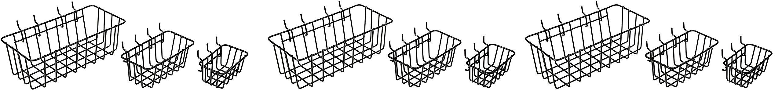 Dorman Hardware 4-9845 Peggable Wire Basket Set (3 X Pack of 3) by Dorman Hardware (Image #1)