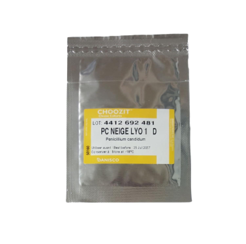 Fromage Culture | Penicillium Candidum | lyophilisés Sachet Lyo 1d pour 250–300l Lait dupont