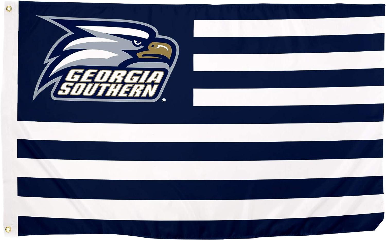 Desert Cactus Georgia Southern University GSU Eagles NCAA 100% Polyester Indoor Outdoor 3 feet x 5 feet Flag (Nation)
