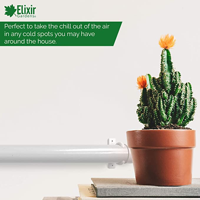 55 W Elixir Gardens TH01 Rohrheizk/örper mit integrierter einstellbarer Temperaturregelung 50 cm