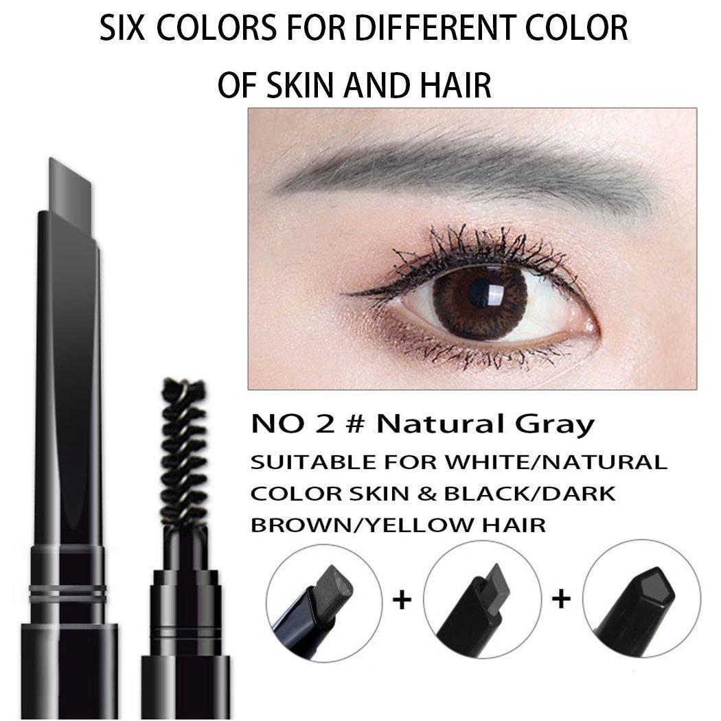 Amazon Sorme Cosmetics Waterproof Eyebrow Pencil Soft Gray