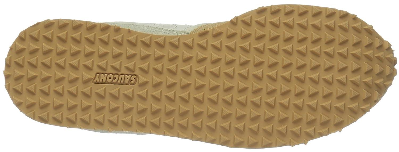 Saucony Women's DXN Trainer Fashion Sneaker B01EAGBRO2 7 B(M) US Light Tan