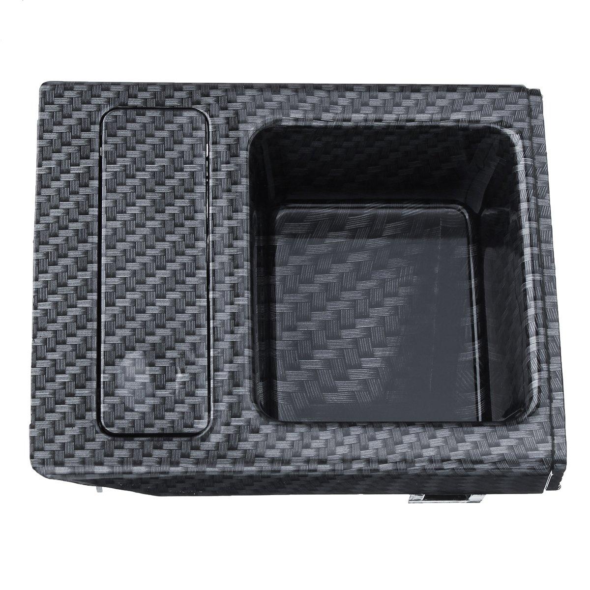 CoCocina Carbon Centre Console Storage Tray Coin Box for BMW E46 325 3 Series 51168217957