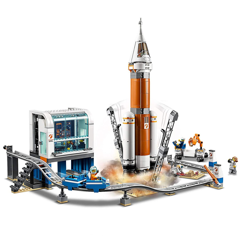 Lego City Space Port 60228 Razzo Spaziale e Centro di Controllo