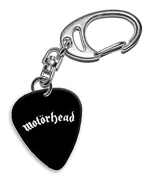 Motorhead Band Logo Llavero de púa de guitarra (H): Amazon ...