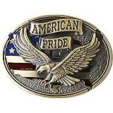 4020c7beb Amazon.com  American Pride Belt Buckle  Clothing
