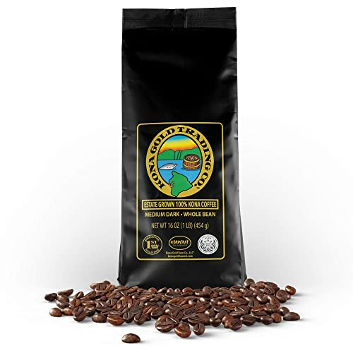 Kona Gold Rum Co. - Medium/Dark Roast Extra Fancy