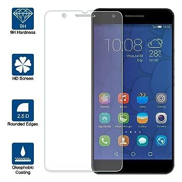 Beiuns Vidrio Templado Protector de Pantalla para Huawei Honor 6 ...