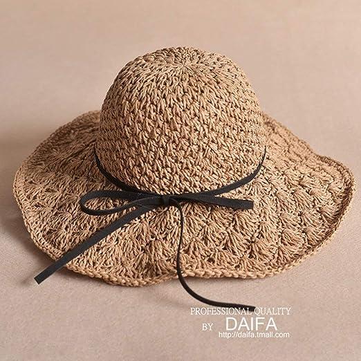 ZTMN Sombreros de Sol Padre-Hijo Sombrero de Paja Madre e Hija ...