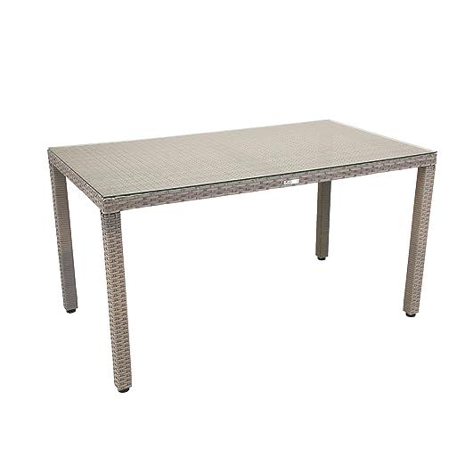 greemotion 429156 - Mesa de Comedor para Exterior (ratán), Color ...