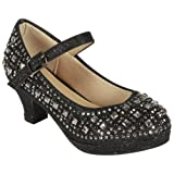 Amazon Price History for:Coshare Kid's Fashion Little Girl Pretty Party Dress Pumps