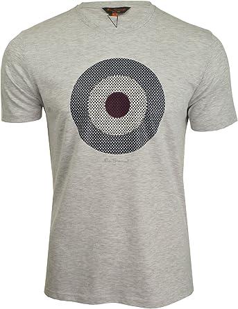 Ben Sherman - Camiseta para hombre Gris gris claro XXL: Amazon.es: Ropa y accesorios