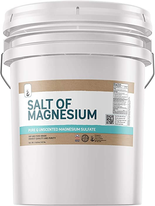 The Best Maganesium Sulfate Food Grade