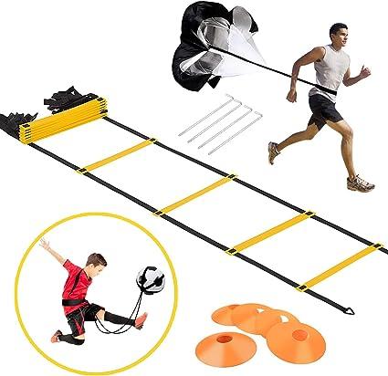 Agility Ladder Speed Training Equipment Ladder Basketball Football Soccer