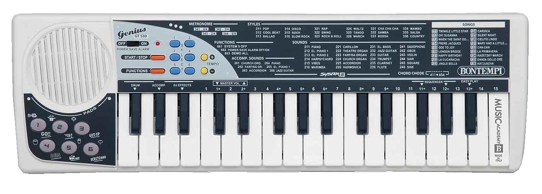 bontempi gt  midikey dj keyboard amazoncouk toys  games -