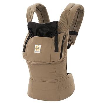 brown ergo baby carrier