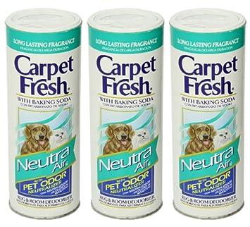Image Unavailable. Image not available for. Color: Carpet Fresh 27900 NeutraAir Pet Odor Neutralizer