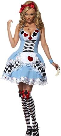 erdbeerloft – Mujer Disfraz de Alicia en el país de Las Maravillas ...
