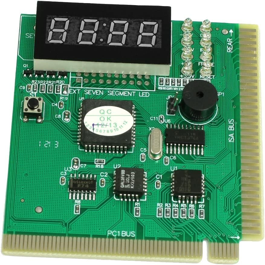 PCI Computer 4 Digits Diagnostic Card Motherboard Analyzer Tester SODIAL R