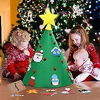Bageek 18PCS Christmas Craft Kit Xmas Tree Fai da Te Kit di Ornamento Fatto a Mano Forniture Artigianali