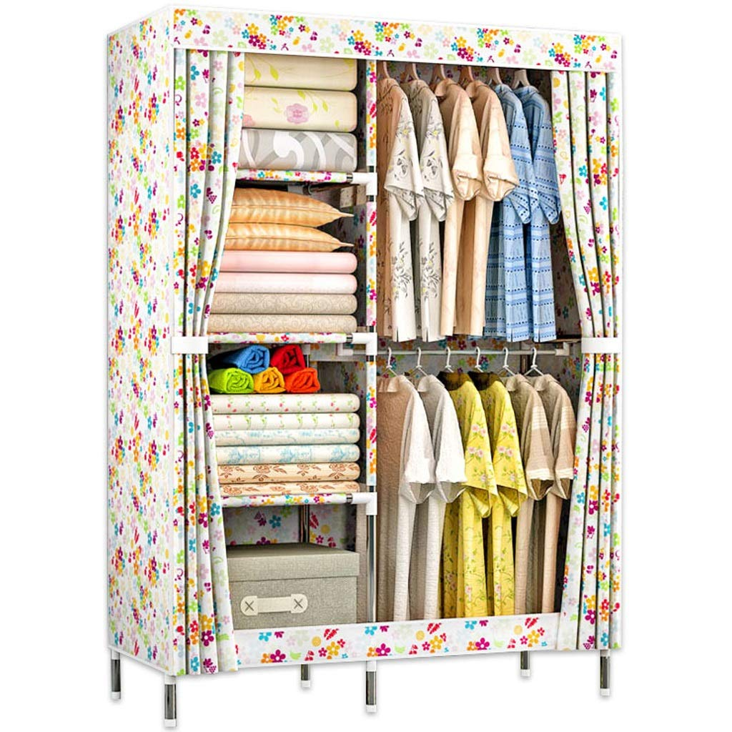 Hai Yan Boutique Cloth Wardrobe Cloth Wardrobe Single Wardrobe Storage Clothes Cabinet Dormitory Small Home Oxford Cloth Assembly by Hai Yan