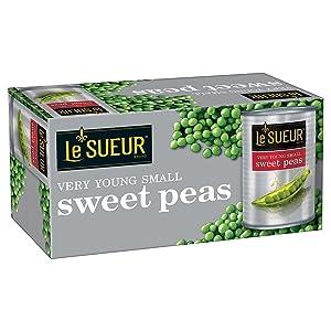 Lesueur Small Sweet Peas, 120 Ounce