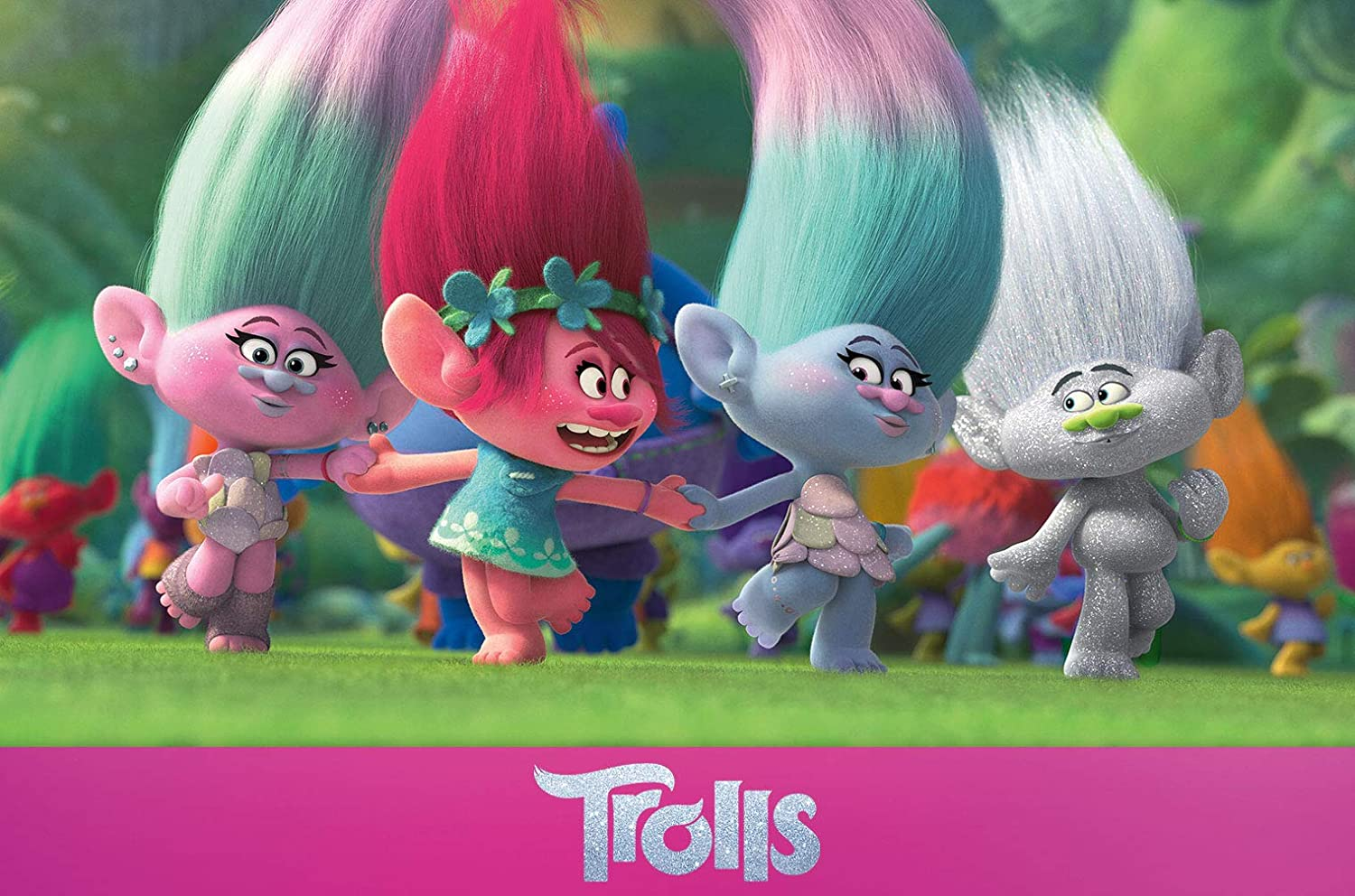 Trolls dvd original soundtrack cd exklusiv amazon.de: amazon.it