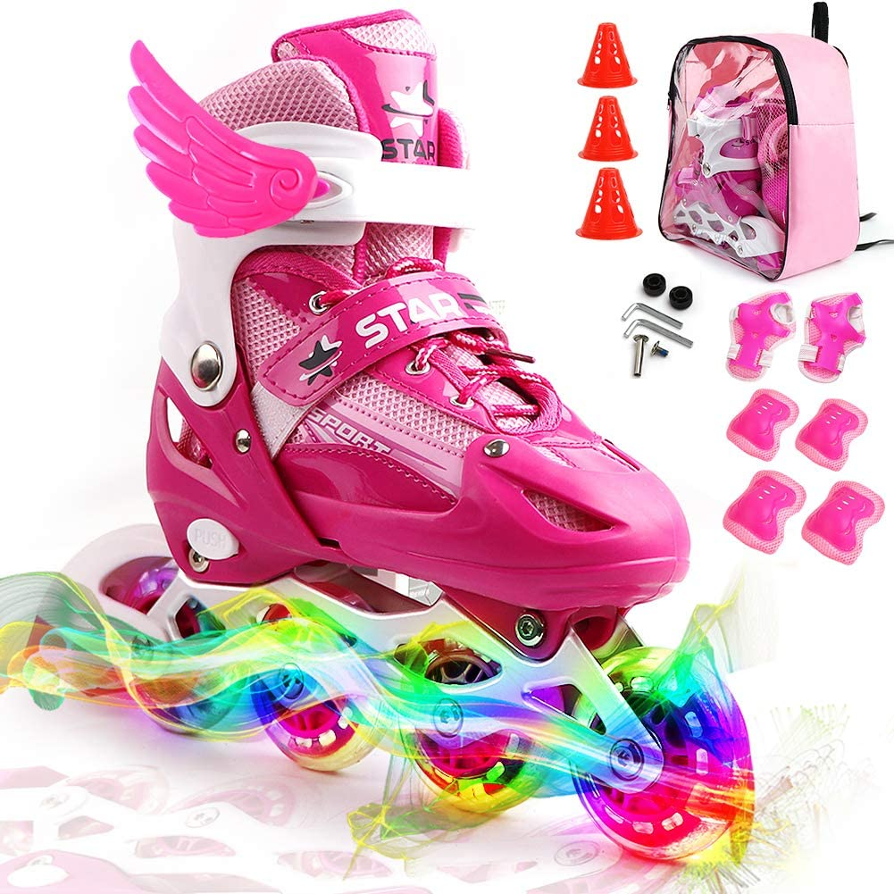 Zalalova可调式直排冰鞋
