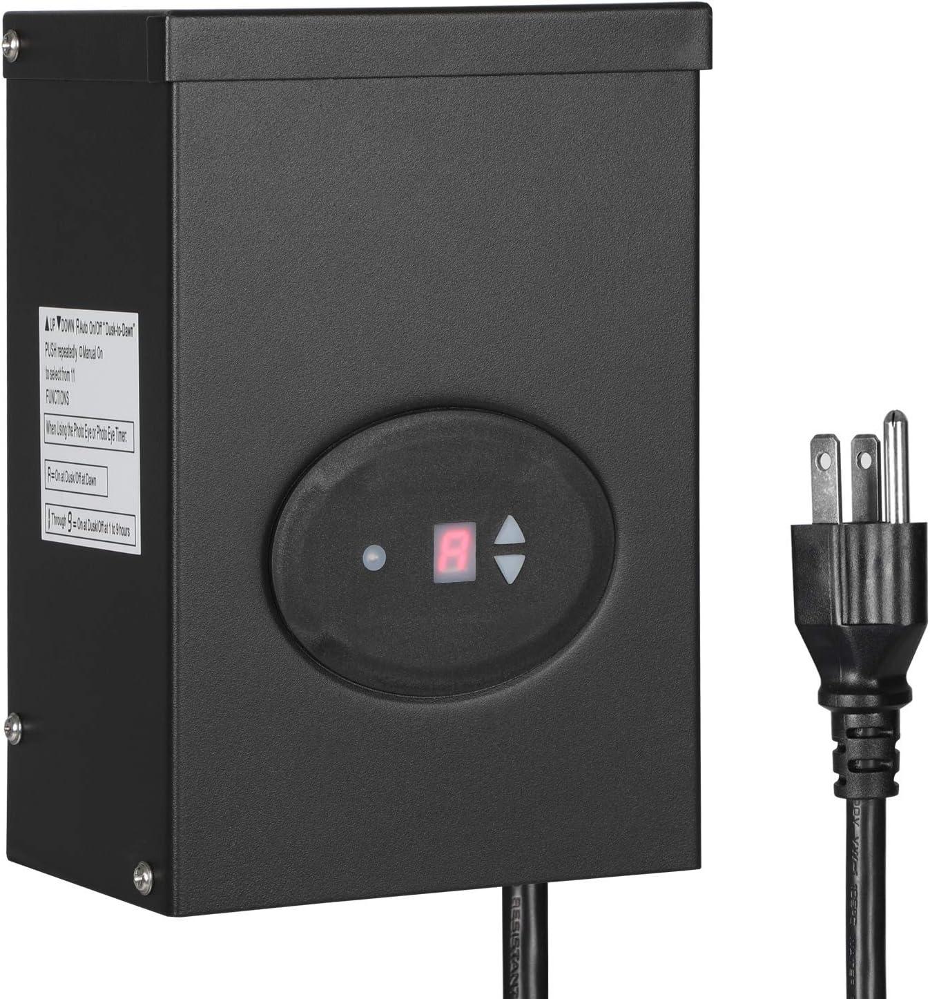 ETL Listed 120V AC to 12V AC Weatherproof Spotlight for Halogen ...